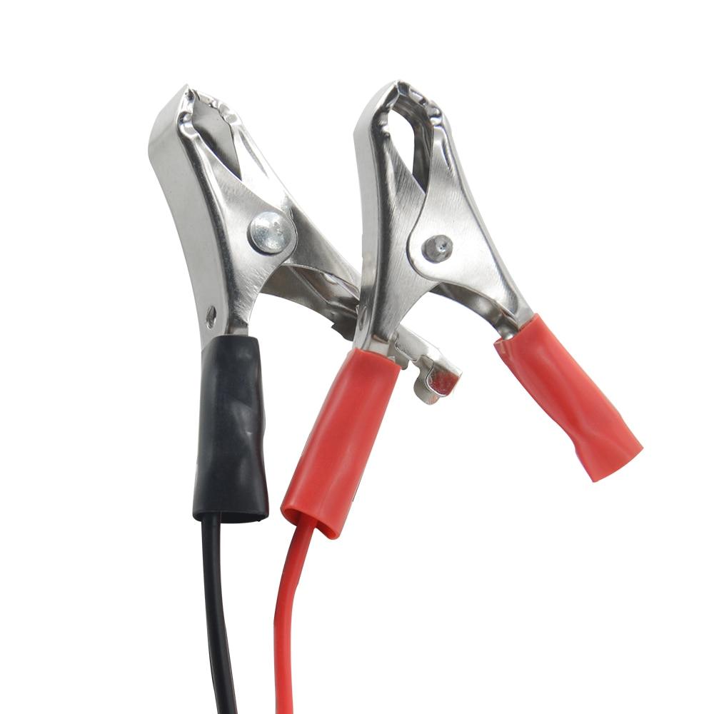 12 В цифровой с 6 светодиодными лампами дисплей батарея тестеры Генератор тестер цепи автомобиля диагностический инструмент для авто мотоци...