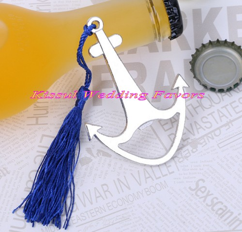 (25 Pieces/lot) Wedding and Event Gifts of Nautical Anchor Bottle Opener Favors for Beach Wedding and Bridal shower Party favor-in Party Favors from Home & Garden    3
