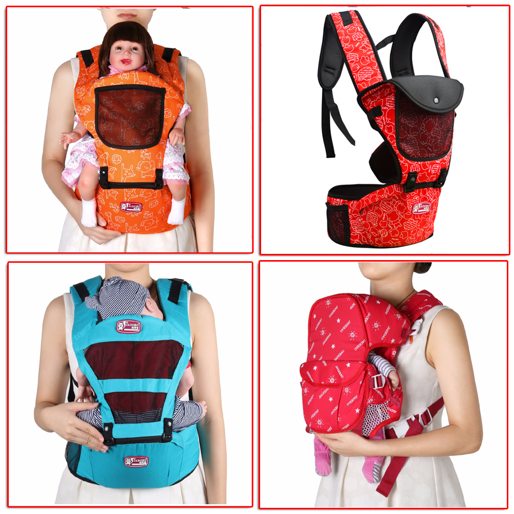 3 36 months ergonomic baby carrier backpack carrier Waist stool triangle labor saving design prevent o