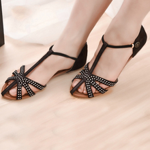 2015 Shoes Woman Summer Gladiator Flat Fashion Vintage Flat Heel Sandal Female Hole Shoes Women's