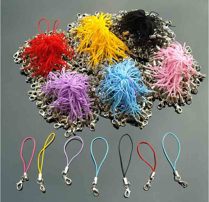 100pcs Multicolor Phone Chain Rope Accessories For Hama Beads Diy Toy Iron Beads Jewelry Beads PUPUKOU Accessories