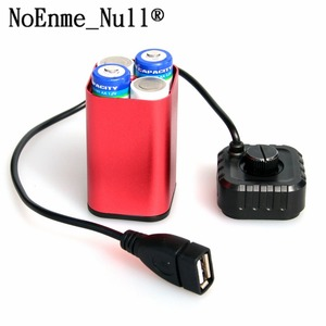 Image 5 - Waterproof 5V USB Portable 4X AA Battery Charger Holder Kit Power Bank Case Box
