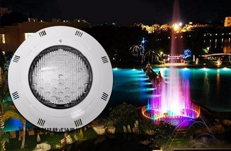 3pcs/lot Wall Mounted 30w 456leds Wall Hanging Ip68 Waterproof RGB LED Swimming Pool Light ,High Quality With Remote Control best quality waterproof ip68 rgb multi color remote control induction charge led table light tubes