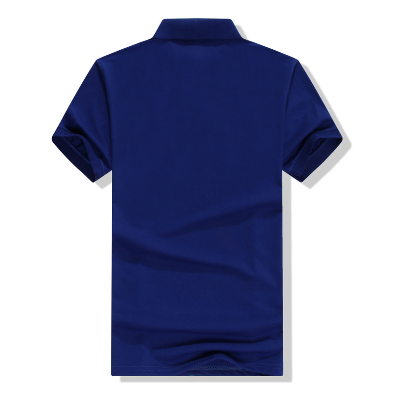 LiSENBAO 2018 Summer High quality brand men polo short sleeve shirt Fashion casual Solid Polo Shirt