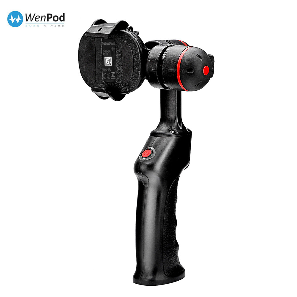 Wewow SP1 Brushless 2 axis handheld font b smartphone b font telephone gimbal stabilizer for iPhone