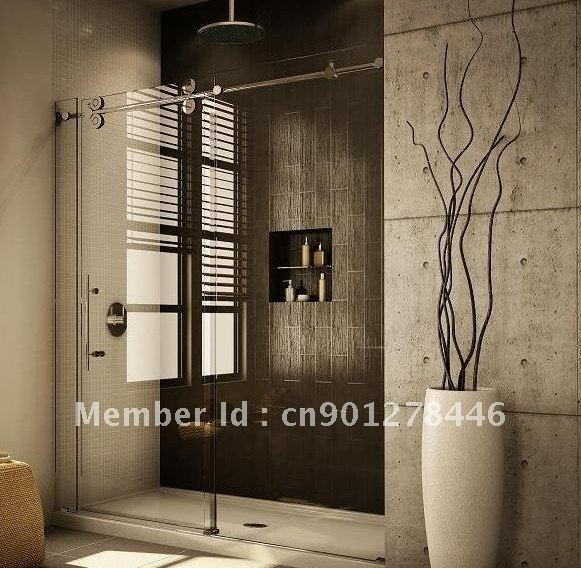shower door sliding glass shower doors frameless frameless sliding shower door