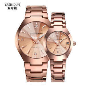 Couple Watch Men and Women Ros