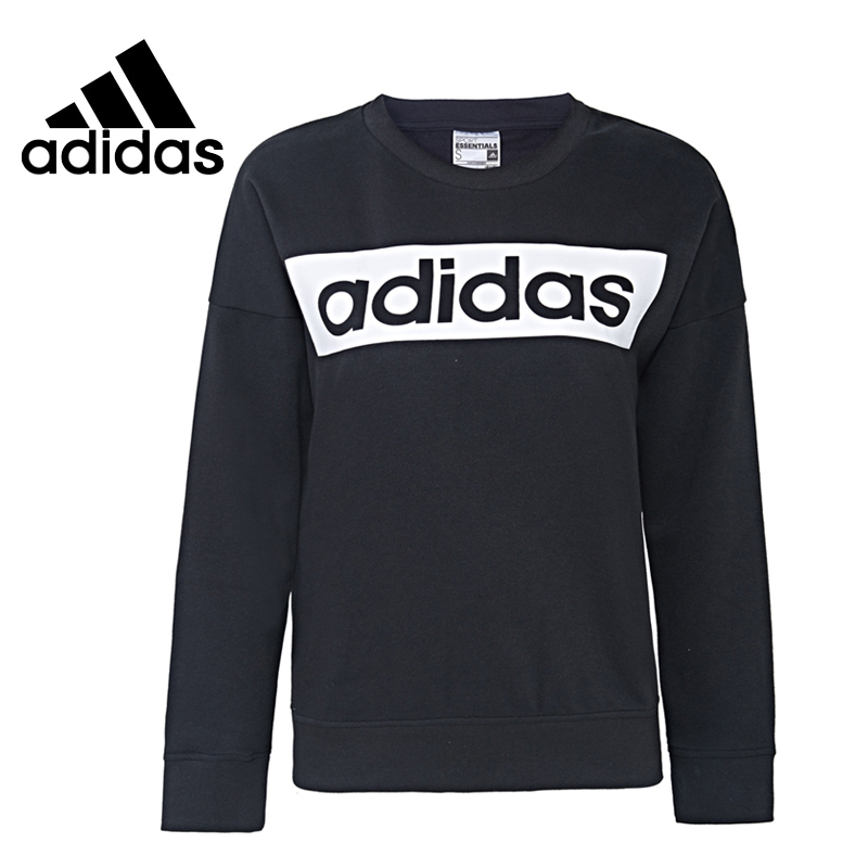 Original New Arrival  Adidas ESS LINEARSWEAT Women's Pullover Jerseys Sportswear original new arrival official adidas neo men s breathable o neck pullover jerseys sportswear