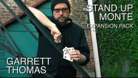 Stand Up Monte Expansion Pack By Garrett Thomas Gimmick DVD Card Magic Trick Illusion Close Up