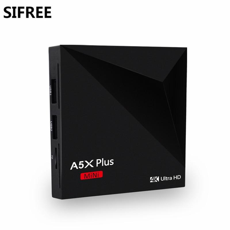 SIFREE Full HD Media Player 4 K Apoyo 1 GB/8 GB Quad Core Inteligente Caja de la