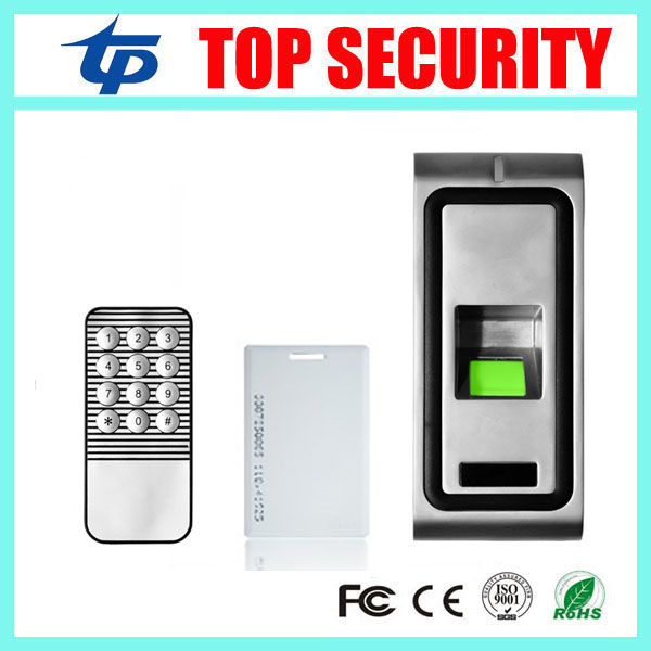Fingerprint access control system with RFID card reader good quality metal fingerprint recognition access control board system biometric fingerprint access controller tcp ip fingerprint door access control reader