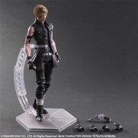 Play Arts KAI Final Fantasy XV Prompto Argentum PVC Action Figure Collectible Model Toy 25cm