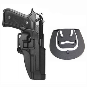 Image 5 - ยุทธวิธีการต่อสู้เข็มขัด Holster Airsoft Pistol Holster Beretta M9 92 96 92fs เอวทหารการล่าสัตว์ Airsoft ปืน