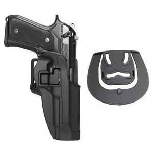 Image 5 - Taktyczne walki futerał na pasek Airsoft pistolet kabura Beretta M9 92 96 92fs talii kabura wojskowy polowanie Airsoft pistolet kabura