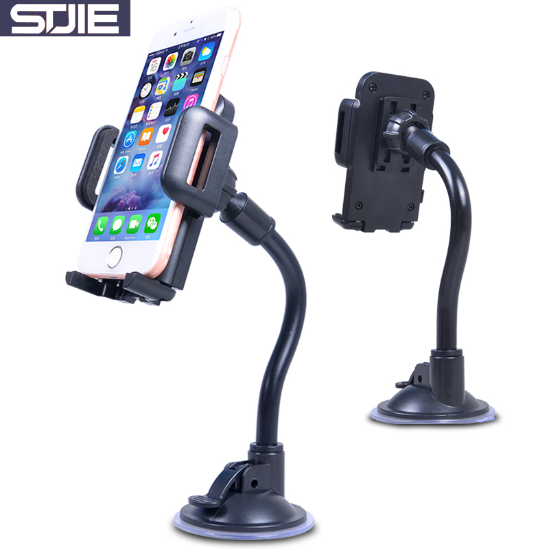 STJIE universal cell carrier car windshield telephone holder for cellphone iphone 8 X