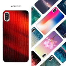 cbf1c925 BINYEAE textures phone wallpaper Hard White Phone Case Cover Coque Shell  for iPhone X 6 6S