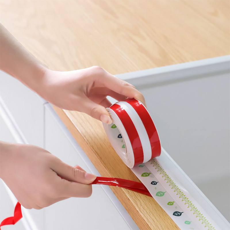 Color Mildew-proof Strip High-quality Adhesive Moisture-proof Mildew-proof Tools Household Kitchen Bathroom Sink Gap Supplies