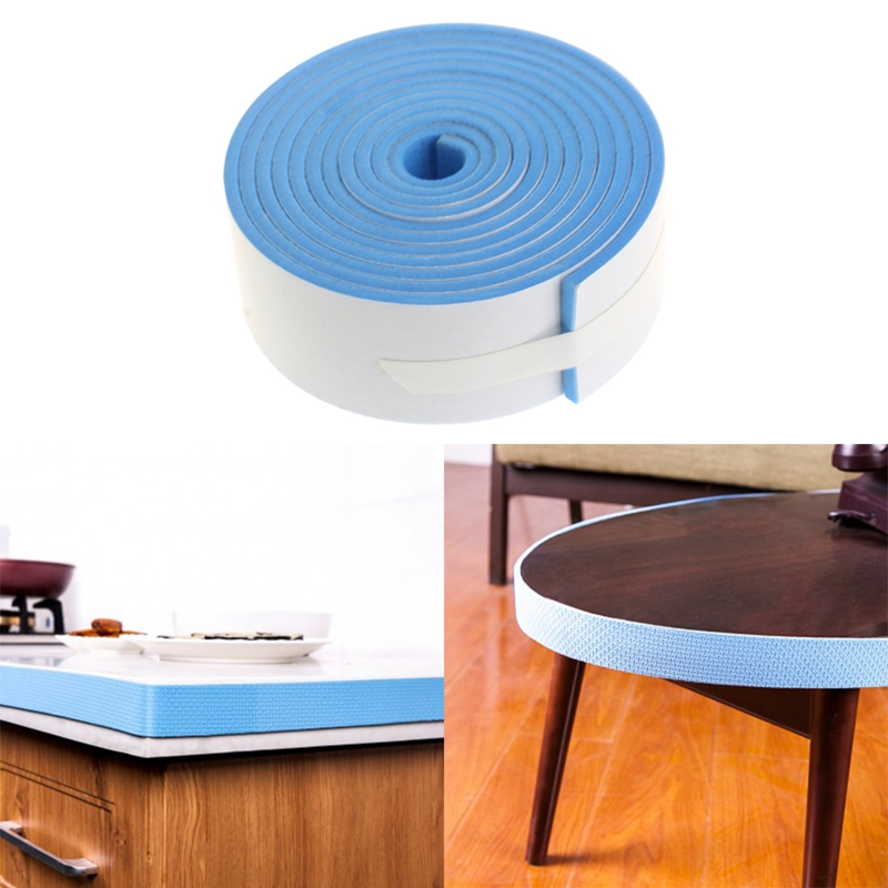 1 pc table edge protection bumper strip baby safety protector plane strips 200 3 5cm p101 in. Black Bedroom Furniture Sets. Home Design Ideas