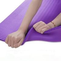 High Quality 185 80cm 10mm Multifunctional Yoga Mat Sling Strap Elastic Cotton Non Slip Fitness Gym