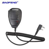 5ra uv Baofeng רדיו רמקול מיקרופון מיקרופון PTT עבור שני הדרך רדיו מכשיר הקשר UV-5R UV-5RE UV-5RA UV-6R 888S UV-82 UV-S9 Portable (1)