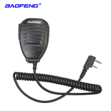 Baofeng Radio Speaker Mic Microphone PTT for Portable Two Way Walkie Talkie UV-5R UV-5RE UV-5RA UV-6R 888S UV-82 UV-S9