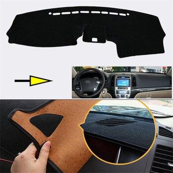 New Interior Dashboard Carpet Photophobism Protective Pad Mat For Hyundai Santa Fe 2010-2012