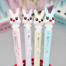 1 Pcs Kawaii 0.5mm/0.7mm Rabbit Automatic Mechanical Pencils Writing Drawing Stationery School Office Supply top quality mechanical pencils made in japan pentel pg513 pg515 pg517 pg519 drawing special 0 3 0 5 0 7 0 9mm