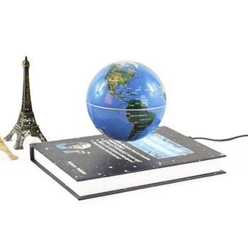 Globe flottant Livre Magnétique Lévitation Globe Décoloration 1