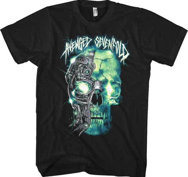 AVENGED SEVENFOLD - Turbo Skull - T SHIRT S-M-L-XL-2XL Brand New Official