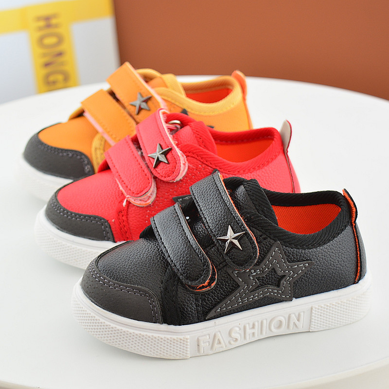 16 New Small Children Canvas Shoes For Kids Baby Boys Canvas Star Shoes Girls Flat Sneakers Low Casual School Students Shoes 9