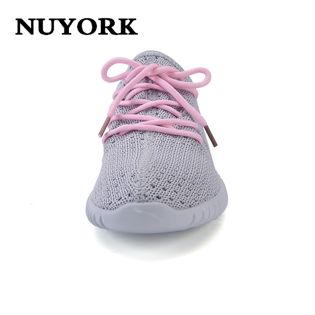 NUYORK 2017 new Summer zapatos mujer Super Light Sole Honeycomb Mesh Surface woman casual Shoes fashion classics women shoes