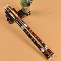 Chinese Musical Instrument G Key Bamboo Flute For Beginner Student Removable