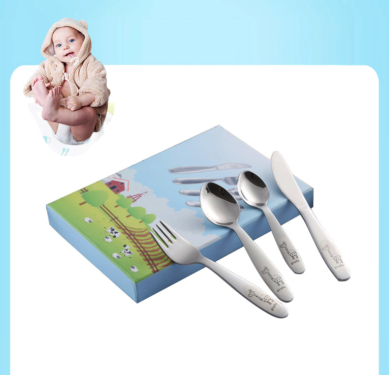 dos desenhos animados linda faca garfo jantar