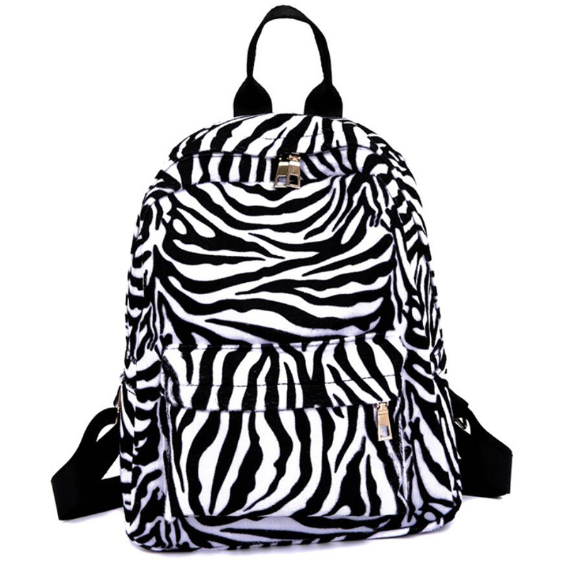 Woman Travel Backpack Large Capacity Girl School Shoulder Bag Leopard Zebra Print Travel Package Laptop Bag Casual Daypack BagsWoman Travel Backpack Large Capacity Girl School Shoulder Bag Leopard Zebra Print Travel Package Laptop Bag Casual Daypack Bags