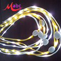 Fashion LED Shoelaces 110cm Shoe Laces Flash Light Up Glow Stick Strap Flat Shoelaces Disco Party Shoes Accessories 1Pair LS01