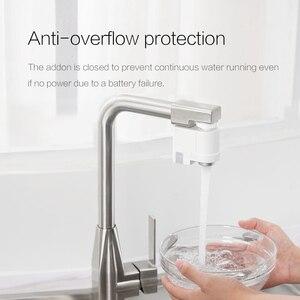 Image 3 - Xiaoda умная Индукционная водосберегающая насадка, инфракрасный индукционный водопроводный кран с защитой от перелива, поворотный водосберегающий кран с форсункой