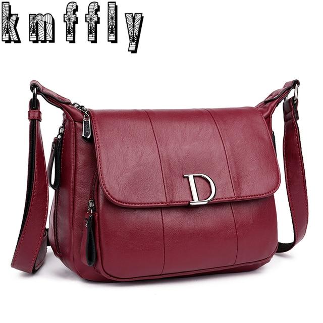 2018 Large Capacity Women Messenger Bags and Letter D Women Bags Shoulder Tote Bags bolsos Famous Designers Leather Handbags Sac