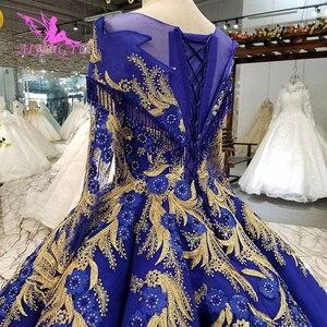 Image 5 - AIJINGYU חתונה שמלות יפן זול כלה Beijing שמלה סקסי פתוח חזרה ארוך שרוולים חדש שמלת כלה