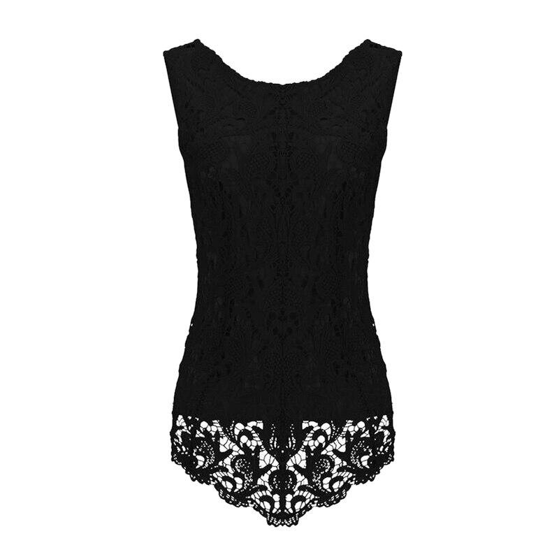 HTB1D4HMNFXXXXbEXVXXq6xXFXXXu - 9Colors White Lace Plus Size 5XL Black Sleeveless