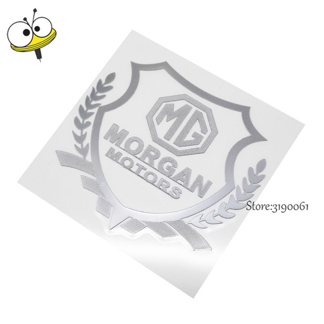 Cheap Plastic Auto Car Sticker Emblem Badge Decal Car Styling For Mg