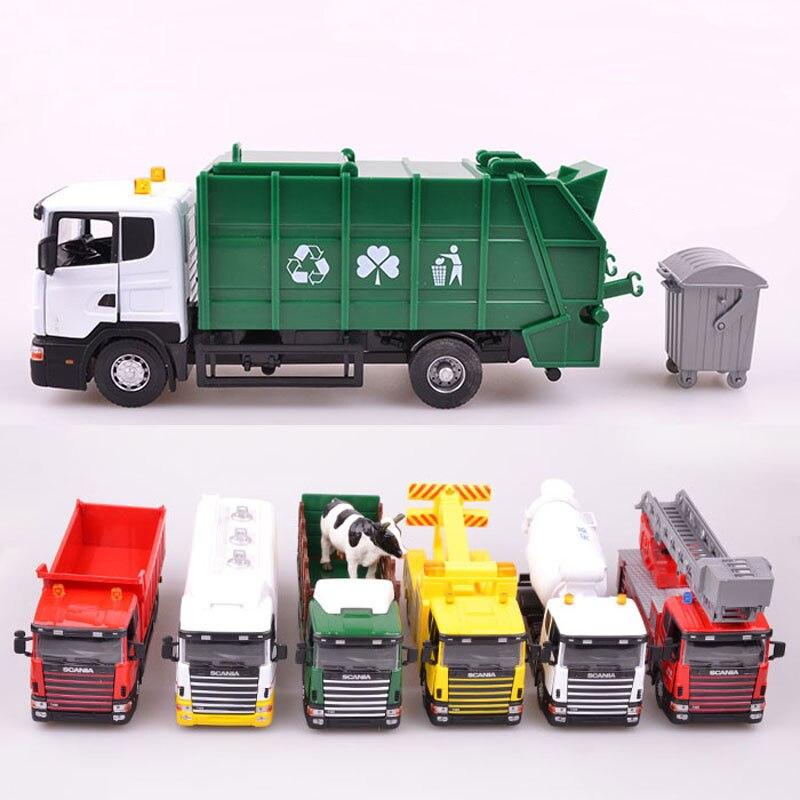 18 Toy Trucks : Popular diecast model transporter buy cheap