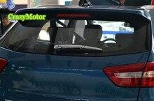 Для Hyundai ix25 Creta 2014 2015 2016 ABS chrome Задний стеклоочиститель Декоративная Крышка Рамка Аксессуары Автомобиль Stying