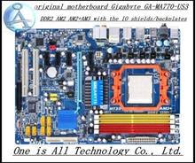MA770-US3 motherboard for Gigabyte GA-MA770-US3 DDR2 AM2 AM2+AM3 motherboard Solid-state power Free shipping