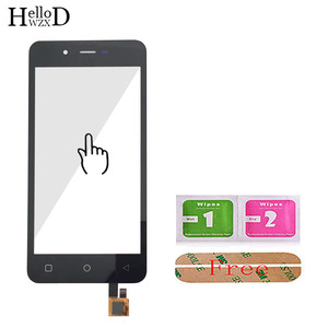 Image 3 - 4.7 Touch Screen Glass For Micromax Q380 380 Touch Screen Glass Digitizer Panel Front Glass Lens Sensor Tools Free Adhesive