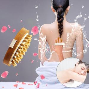 1pc Wooden Face Body Cleaning