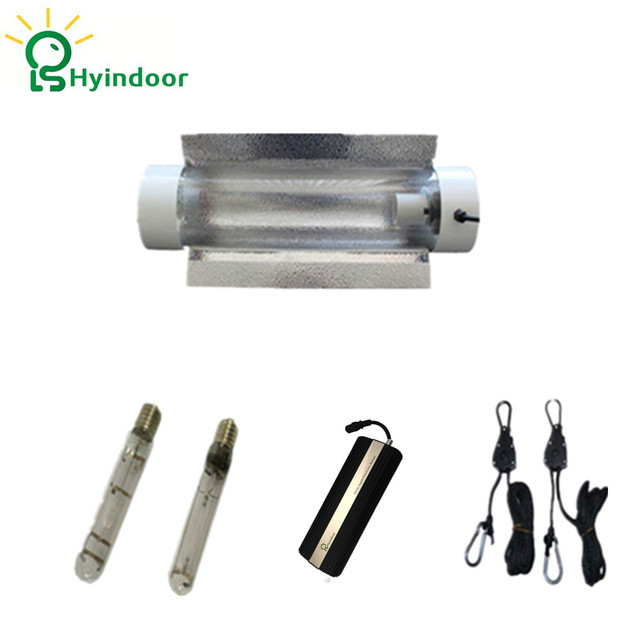 US $365 0 |1000W Grow Lights System with Cool Tube Lamp Covers Shades  Reflector for Indoor Garden-in Growing Lamps from Lights & Lighting on