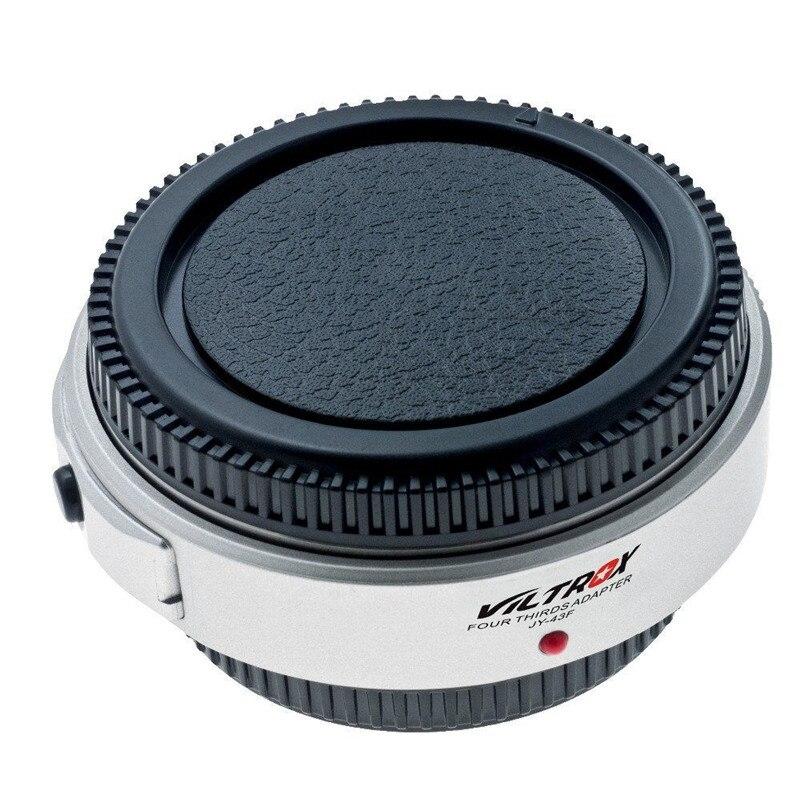 Viltrox פוקוס אוטומטי 4/3 עדשת מתאם טבעות JY-43F AF DSLR מצלמה עדשות אביזרי מיקרו 4/3 הר מצלמה לאולימפוס Panasonic