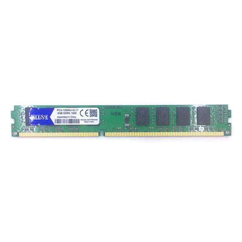 MLLSE メモリ Ram ギガバイト DDR3 8 1600 1600 mhz PC3-12800U PC3-12800 デスクトップコンピュータ PC の RAM メモリメモリアラム DIMM 8 グラム