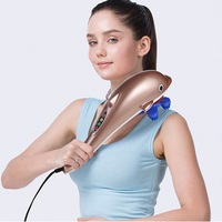 Electric Body Massager Infrared Stick Roller Cervical Dolphin Massager Slimming Products Weight Loss Neck Leg Shoulder CCP030