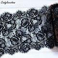 Кружевное нижнее белье Cindylaceshow с черными ресничками шириной 23,5 см, 3 метра